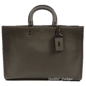 COACH Rogue Briefcase In Glove Tanned Heather